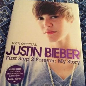 hardcover book Other - JUSTIN BIEBER hardcover book